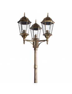 Уличный светильник Arte Lamp GENOVA A1207PA-3BN