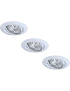 Встраиваемый cветильник Arte Lamp PRAKTISCH A1213PL-3WH