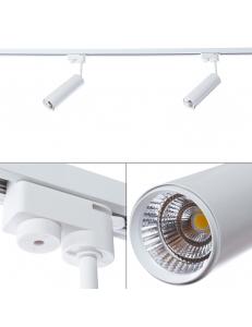 Трековый светильник Arte Lamp PERISCOPIO A1412PL-1WH
