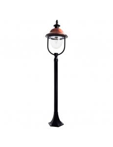 Уличный светильник Arte Lamp BARCELONA A1486PA-1BK