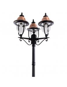 Уличный светильник Arte Lamp BARCELONA A1486PA-3BK