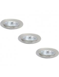 Встраиваемый cветильник Arte Lamp BASIC A2103PL-3SS