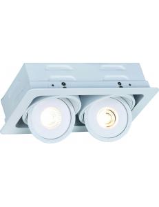 Встраиваемый cветильник Arte Lamp STUDIO A3007PL-2WH