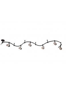 Трековый светильник Arte Lamp RAILS A3056PL-6BK