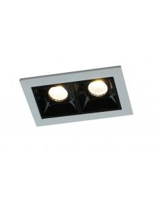 Встраиваемый cветильник Arte Lamp GRILL A3153PL-2BK