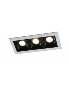 Встраиваемый cветильник Arte Lamp GRILL A3153PL-3BK