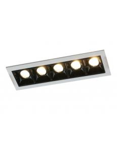 Встраиваемый cветильник Arte Lamp GRILL A3153PL-5BK