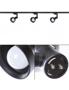 Трековый светильник Arte Lamp NIDO A5109PL-1BK
