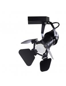 Трековый светильник Arte Lamp PETALO A5319PL-1BK