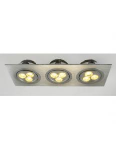 Встраиваемый cветильник Arte Lamp CANDOUR A5902PL-3SS