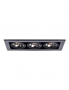 Встраиваемый cветильник Arte Lamp CARDANI MEDIO A5930PL-3BK