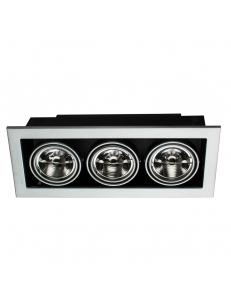 Встраиваемый cветильник Arte Lamp CARDANI MEDIO A5930PL-3SI