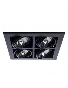 Встраиваемый cветильник Arte Lamp CARDANI MEDIO A5930PL-4BK
