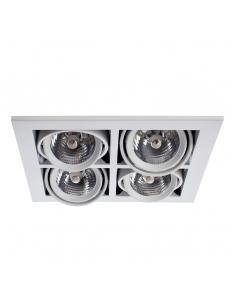 Встраиваемый cветильник Arte Lamp CARDANI MEDIO A5930PL-4WH