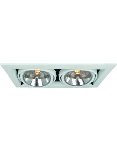 Встраиваемый cветильник Arte Lamp CARDANI GRANDE A5935PL-2WH