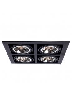 Встраиваемый cветильник Arte Lamp CARDANI GRANDE A5935PL-4BK