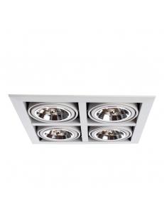 Встраиваемый cветильник Arte Lamp CARDANI GRANDE A5935PL-4WH