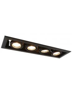 Встраиваемый cветильник Arte Lamp CARDANI PICCOLO A5941PL-4BK