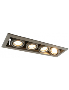 Встраиваемый cветильник Arte Lamp CARDANI PICCOLO A5941PL-4GY
