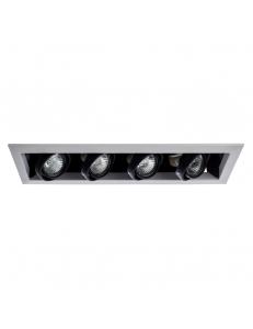 Встраиваемый cветильник Arte Lamp CARDANI PICCOLO A5941PL-4WH