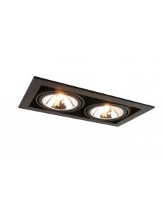 Встраиваемый cветильник Arte Lamp CARDANI SEMPLICE A5949PL-2BK