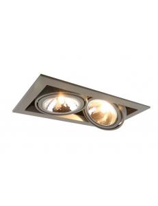 Встраиваемый cветильник Arte Lamp CARDANI SEMPLICE A5949PL-2GY