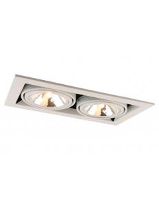 Встраиваемый cветильник Arte Lamp CARDANI SEMPLICE A5949PL-2WH
