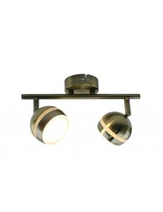 Спот Arte Lamp VENERD A6009PL-2AB