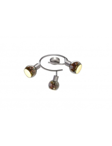 Спот Arte Lamp ILLUSIONE A6125PL-3SS