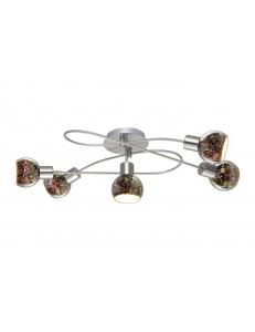 Спот Arte Lamp ILLUSIONE A6125PL-5SS