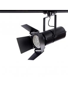 Трековый светильник Arte Lamp OBIETTIVO A6312PL-1BK