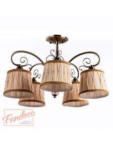 Люстра Arte Lamp GLORIOSO A6371PL-5AB