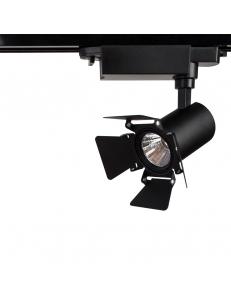 Трековый светильник Arte Lamp FALENA A6709PL-1BK