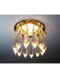 Встраиваемый cветильник Arte Lamp BRILLIANTS A7001PL-1GO