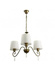 Люстра Arte Lamp CAROLINA A9239LM-3BR