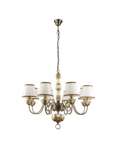 Люстра Arte Lamp BENESSERE A9570LM-8WG