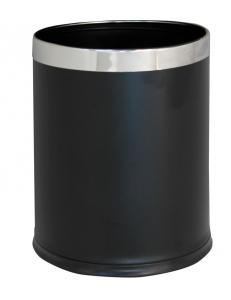 Ведро для мусора двойное черное