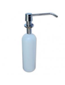 Дозатор жидкого мыла, врезной , под раковину , пластиковый , 1000 мл,, код: 628