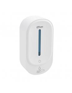 Дозатор сенсорный для мыла-пены пластиковый белый 350 мл, код: 677