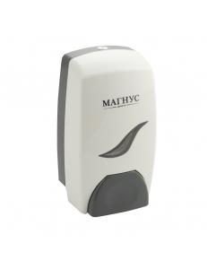 Дозатор жидкого мыла пластиковый белый 1000 мл, код: 684