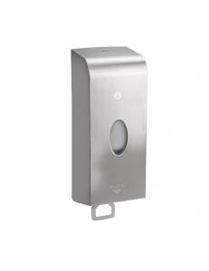 Дозатор для жидкого мыла, антивандальный из нержавеющей стали ALSI 304, 1000 мл, код: 689