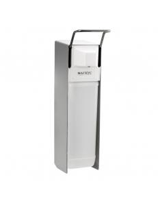Дозатор локтевой для жидкого мыла, алюминиевый корпус, 2000 мл, код: 701
