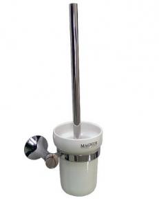Ёрш для унитаза , керамическая колба с креплением к стене, код: 85162
