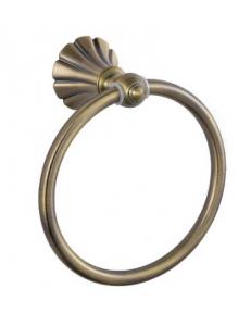 Держатель полотенца кольцо под БРОНЗУ, код: 95147