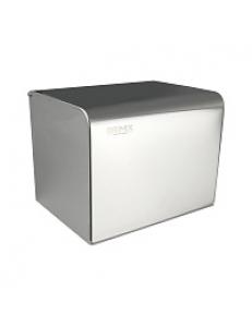 Держатель  туалетной бумаги закрытый короб,  160х135х132 мм из нержавеющей стали 304 , хром 79908