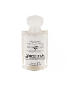 Гель для душа во флаконе 50 мл коллекция  WHITE TEA