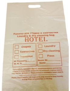 Пакет для белья Laundry bag с вырубной ручкой 60*40