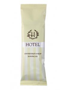 """Бритвенный набор флоупак, крем для бритья в саше 6 г серия """"HOTEL"""""""