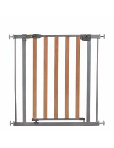 Ворота безопасности  Hauck Wood Lock silver