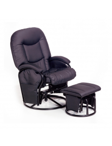 Кресло  Hauck Metal Glider black  для кормящей мамы